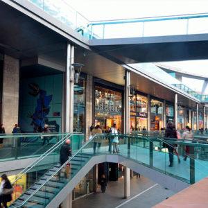 Остекление торговых центров