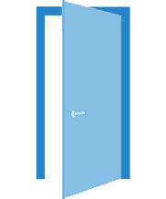 Расчет стоимости стеклянной двери