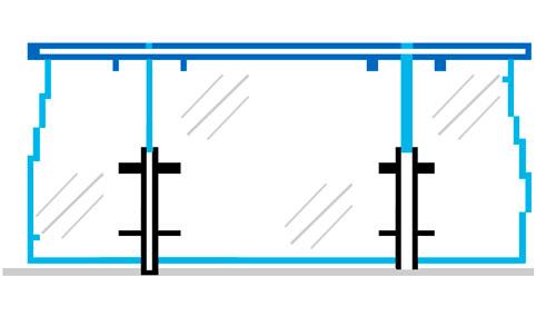 Расчет стоимости стеклянного ограждения